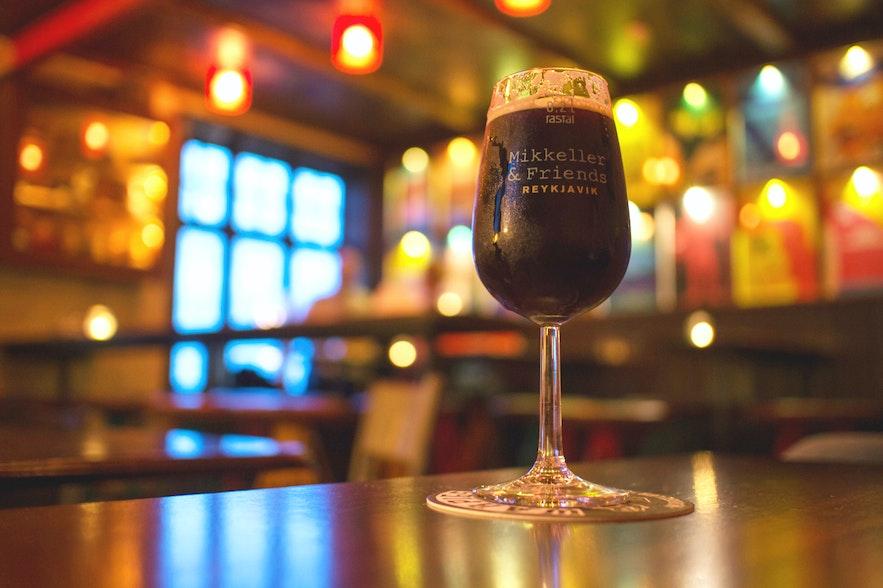 クヴェルフィスガタ・スポンタンのビール