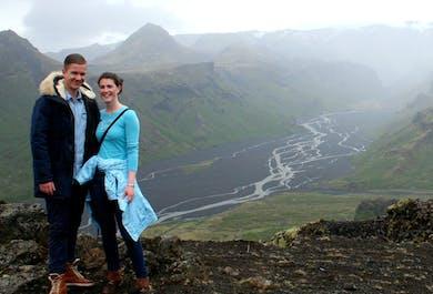 South coast and the Þórsmörk Glacier valley