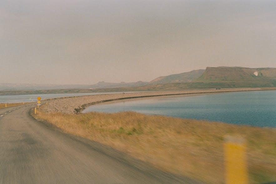 Auf dem Weg nach Holmavík