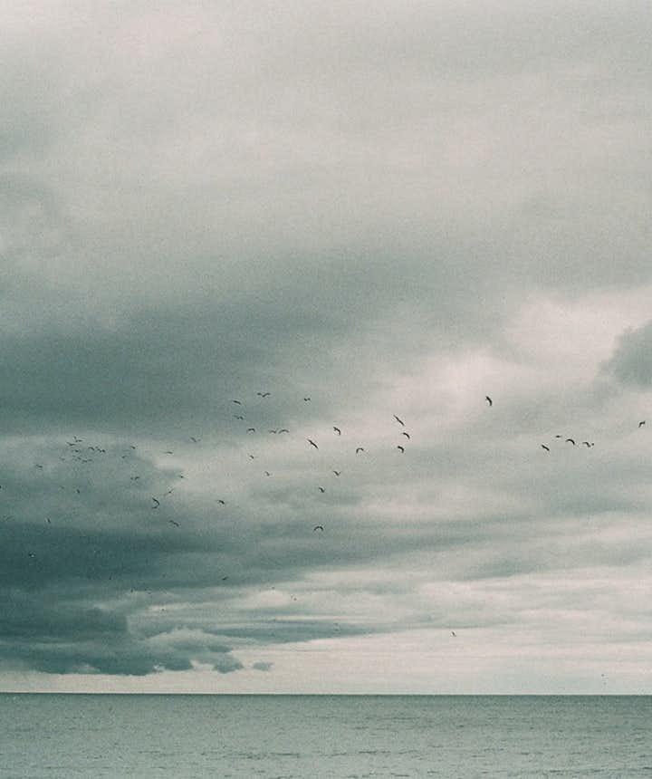 Ausblick auf den nordatlantischen Ozean