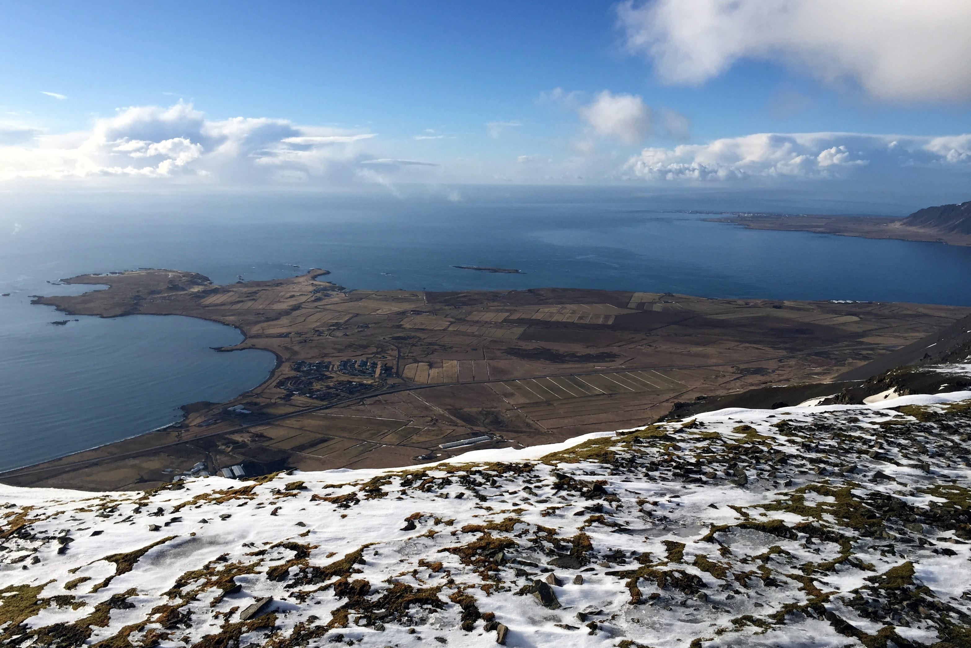 直升机空览冰岛雷克雅未克