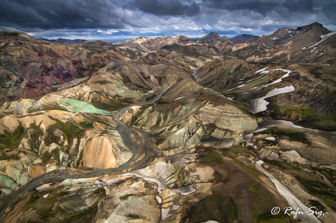 直升机鸟瞰冰岛旅行团