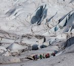 Glacier Hiking is an activity for those explorers brave enough to tackle the ice cap.