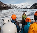 Glacier hiking is an incredibly popular past time in Iceland, with guests from around the world travelling here to explore the ice caps.