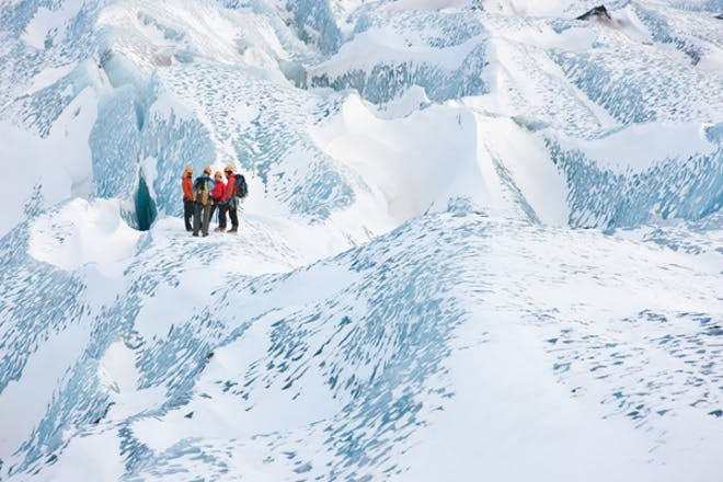 Cascade Auto Group >> Small Group Glacier Hiking & Ice Climbing Tour on Solheimajokull Glacier