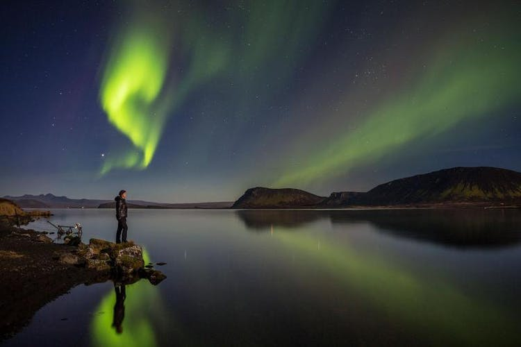 There are plenty of dark spaces and hidden gems from which to marvel at the northern lights in west Iceland.