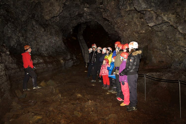 Lava Caving is one of the activities that can be done in Iceland throughout the year.
