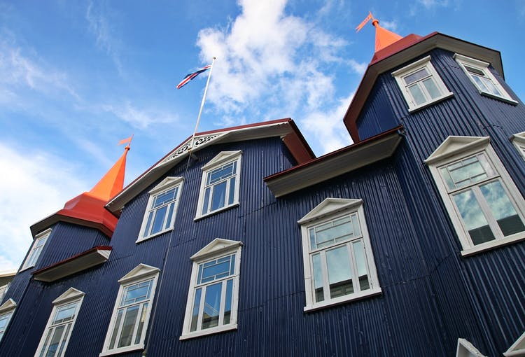 Akureyri, the northern capital of Iceland, is filled with fascinating Nordic architecture.