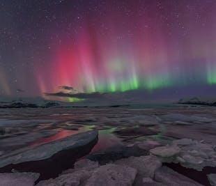冬季セルフドライブツアー6日間 | 氷の洞窟探検オプション付き