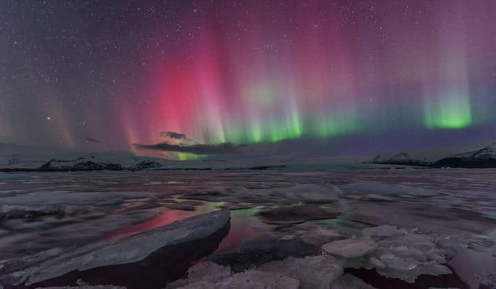 Autotour hiver de 6 jours   Jokulsarlon, Grotte de glace & Plage volcanique