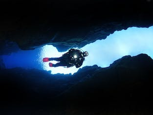 Diving Silfra Fissure & Visit a Lava Cave | Day Tour
