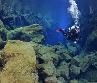 Diving Silfra & Horseback Riding Tour