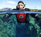 ドライスーツも慣れれば居心地のいい水中の体験ができる