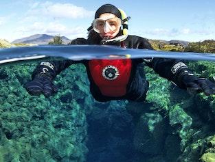 Snorkeling Silfra & Lava Caving Combo