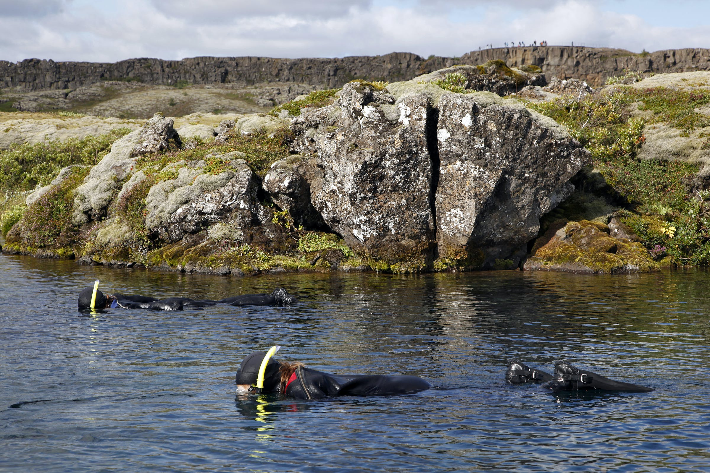 Snorkelling Silfra & Lava Caving Day Tour