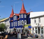 You will find many things to do in the northern town of Akureyri, such as horse riding tours and whale-watching excursions