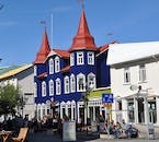 You will find many things to do in the northern town of Akureyri, such as horse riding tours and whale-watching excursions.