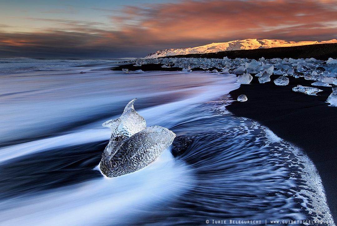 Iceland Has Got a Diamond Beach!