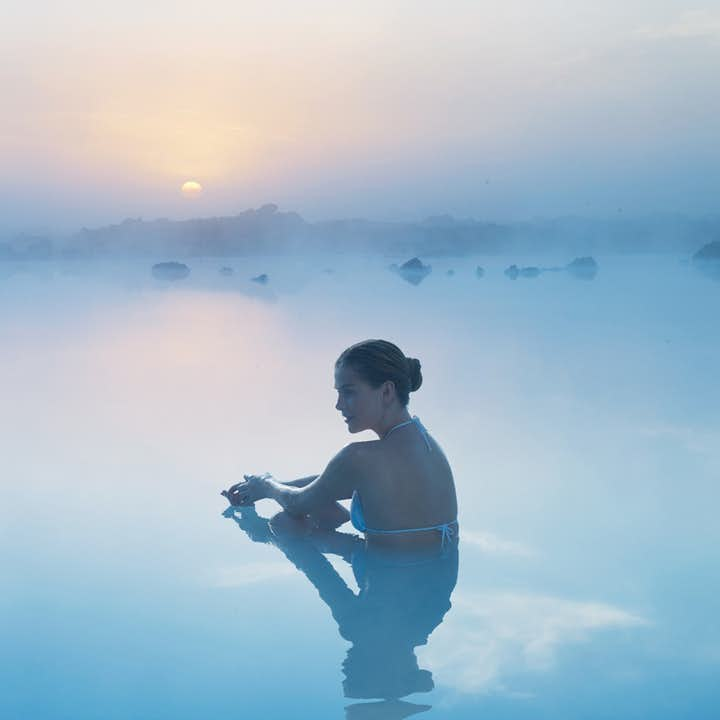 The serenity found in the Blue Lagoon is matched only in other geothermal hotspots in Iceland.