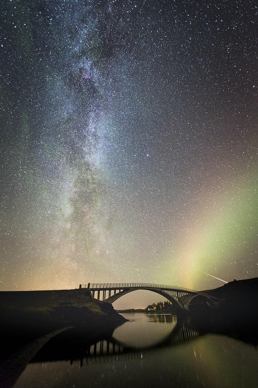 Hvitárbrú í Borgarfirði