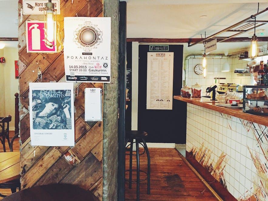 冰岛首都雷克雅未克咖啡店Kaffibrennslan
