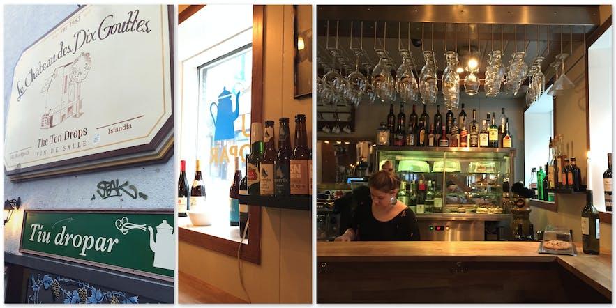 冰岛首都雷克雅维克咖啡馆Tiu Dropar