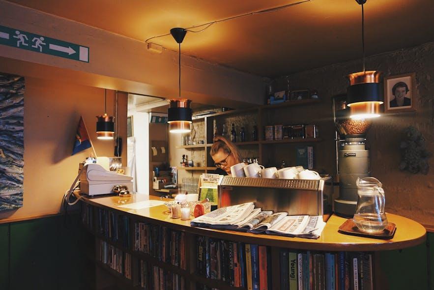 冰岛首都雷克雅未克早餐厅Grái Kötturinn