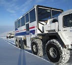 The West Iceland Highlights private tour will require some travel in specially modified trucks capable of traversing the country's difficult terrain.