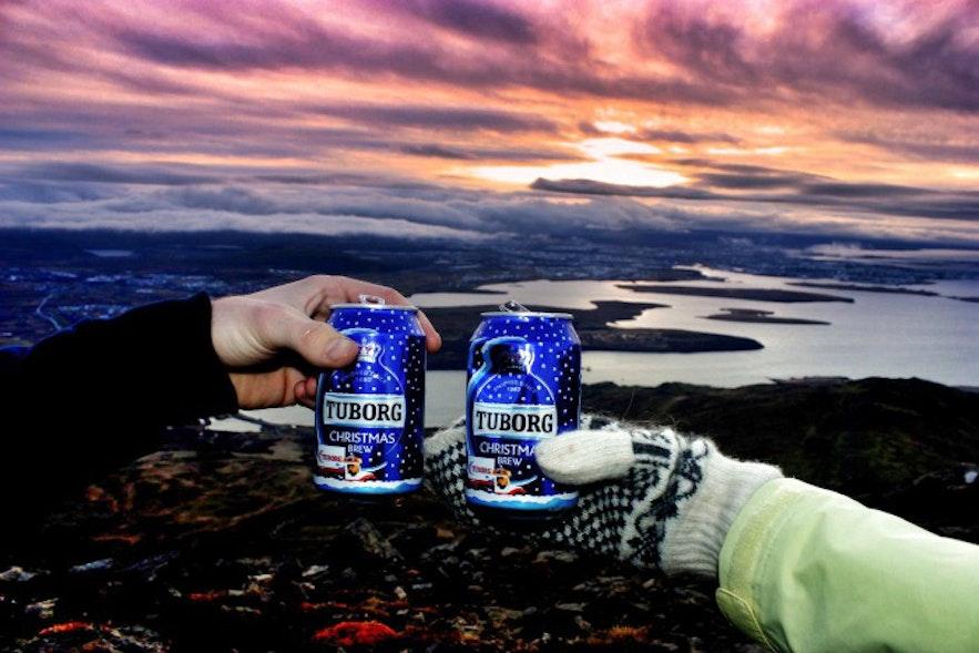 Mountain Esja Iceland
