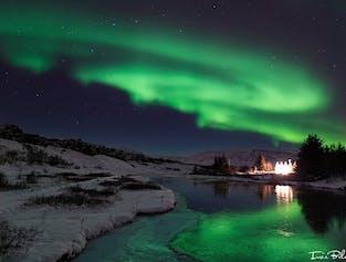Autotour hiver de 3 jours   Sources chaudes et aurores boréales