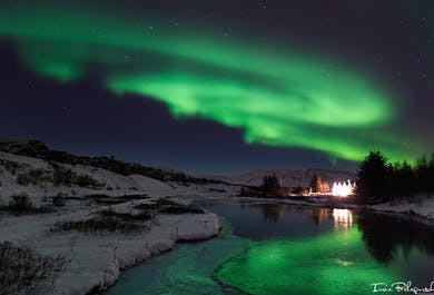 3 dni - Zimowa wycieczka do gorących źródeł i zorza polarna