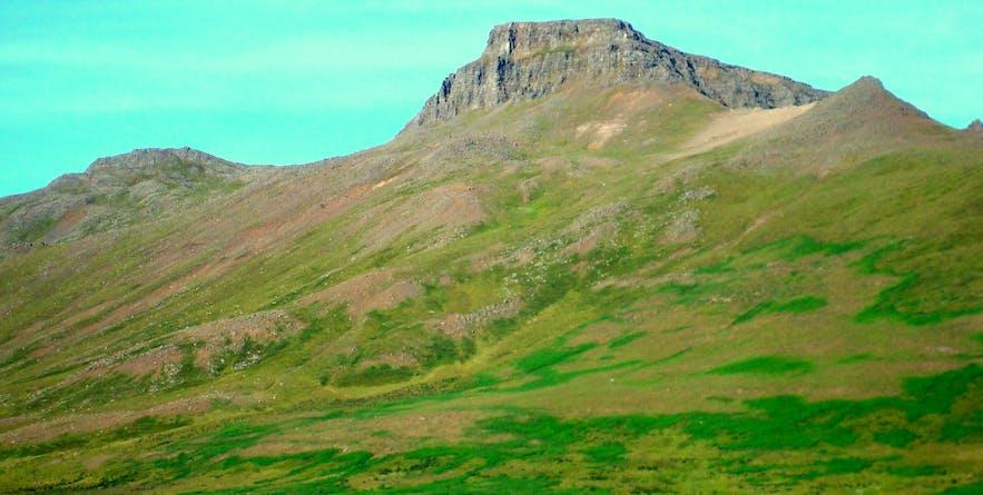 Skagaströnd Village and Þórdís the Prophetess in Skagi in North-Iceland
