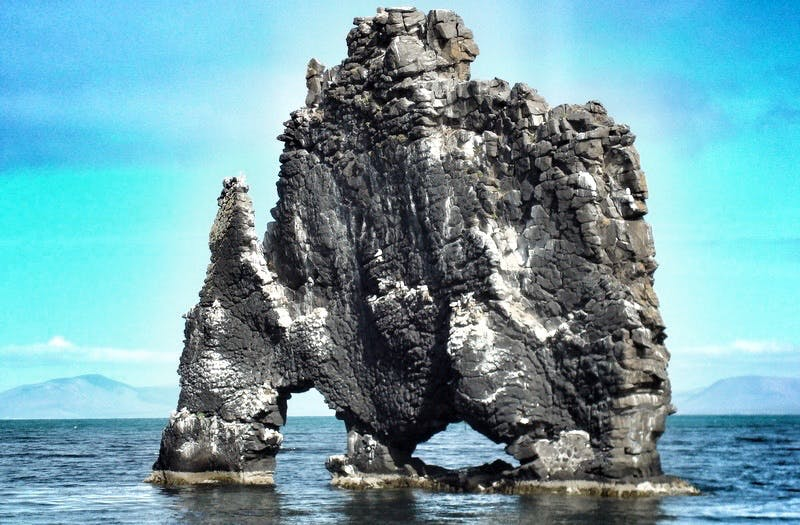 Hvítserkur - The Troll of North-West Iceland