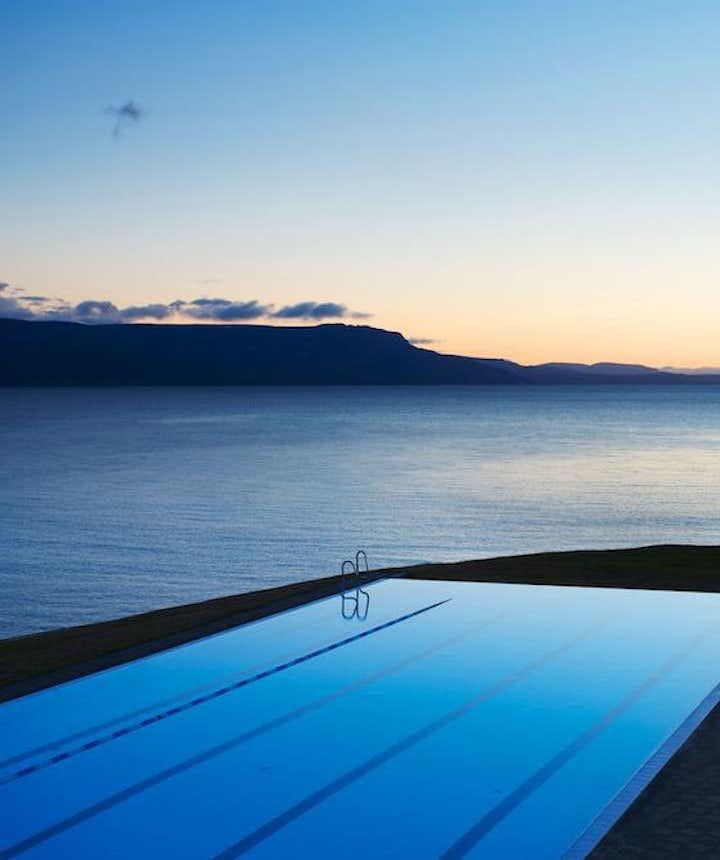 冰岛最好的温泉泳池