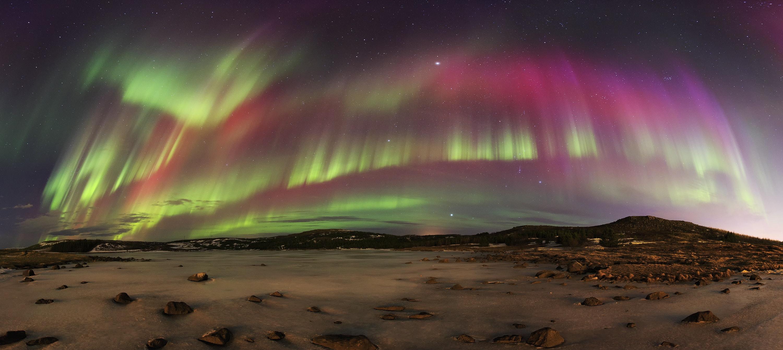 冰岛北极光摄影