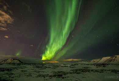 Sortie aurores polaires en autocar depuis Reykjavik