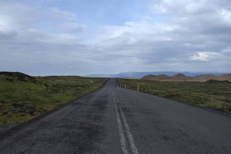 アイスランドでの運転