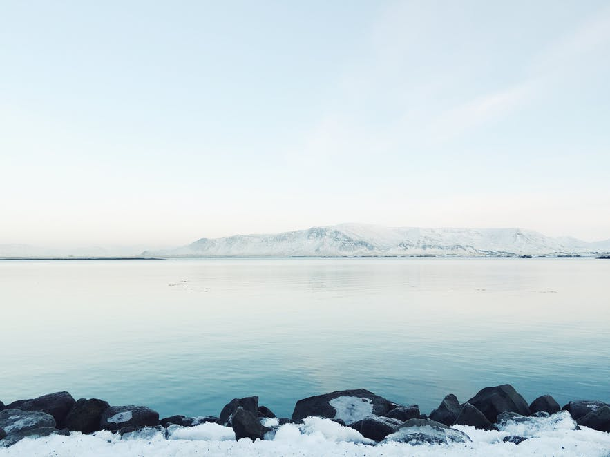 冰岛首都雷克雅未克Esja山