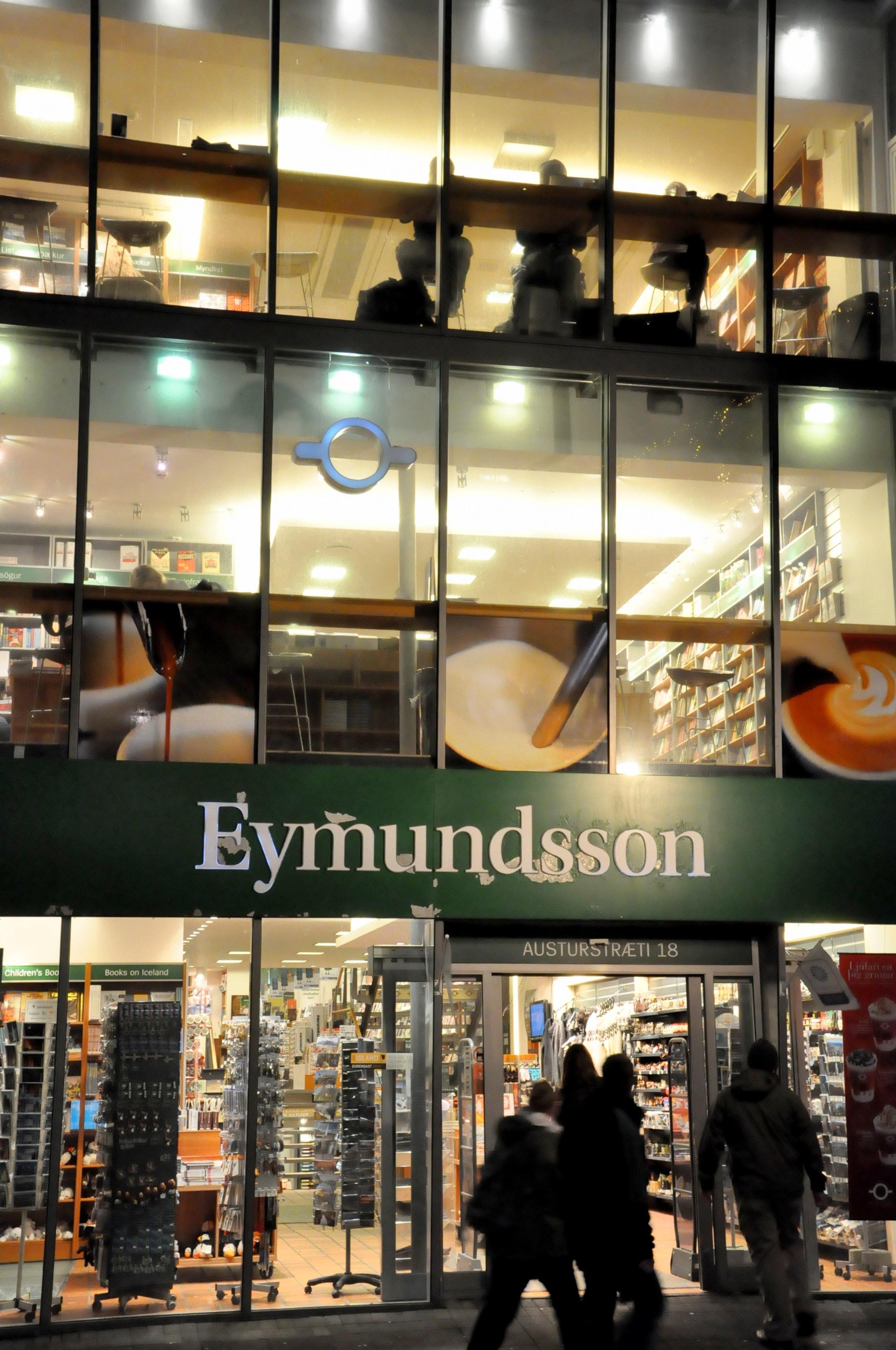 冰岛首都雷克雅未克书店