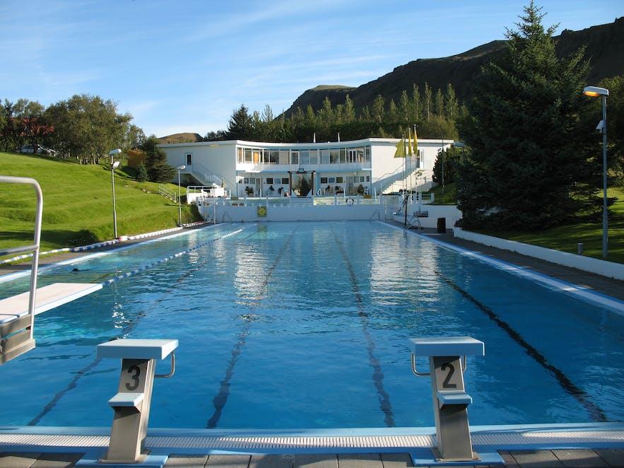 Hveragerði Laugarskarð pool
