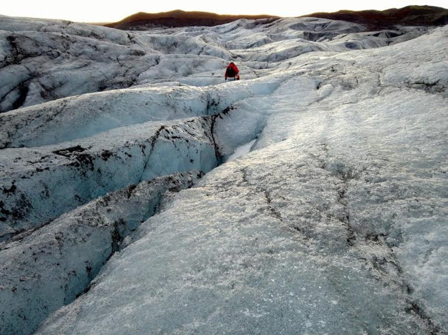 아이슬란드 빙하 하이킹 스카프타펠
