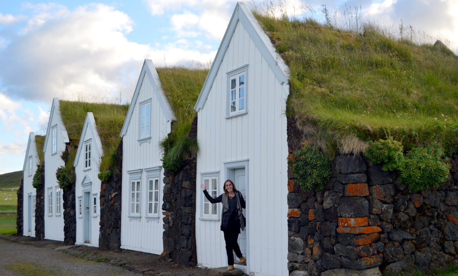 The majestic Grenjaðarstaður Turf House in North-Iceland