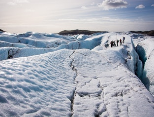 Glacier hike Day tour from Reykjavik - Only 6 persons on each tour!