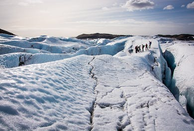 Glacier Hiking tour from Reykjavik | Six people Maximum | Easy Difficulty