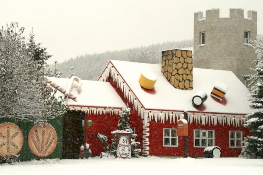Das Weihnachtshaus bei Akureyri
