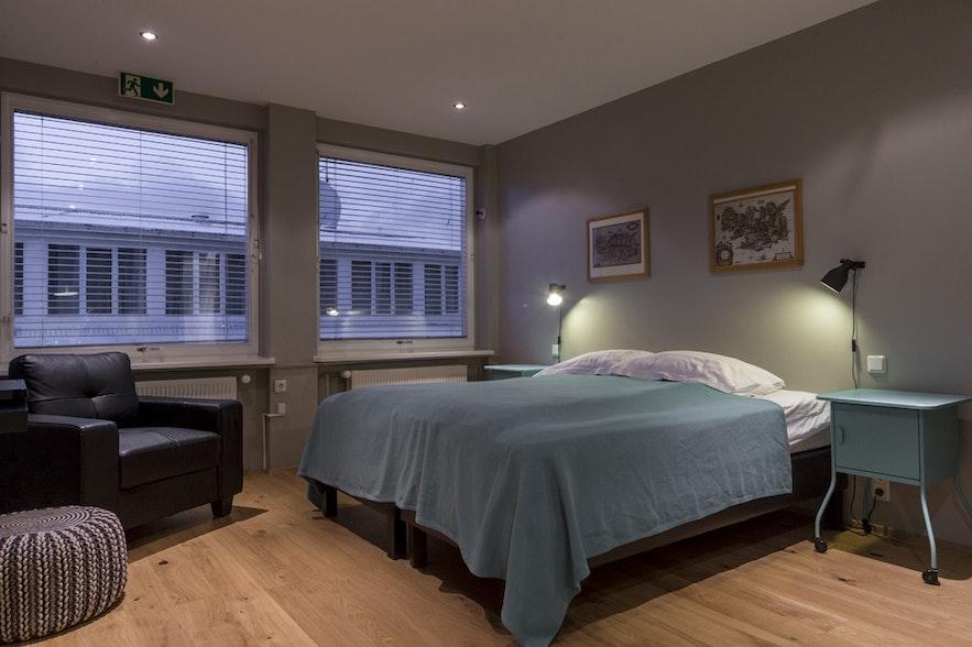 Przytulnie urządzony pokój w View apartments