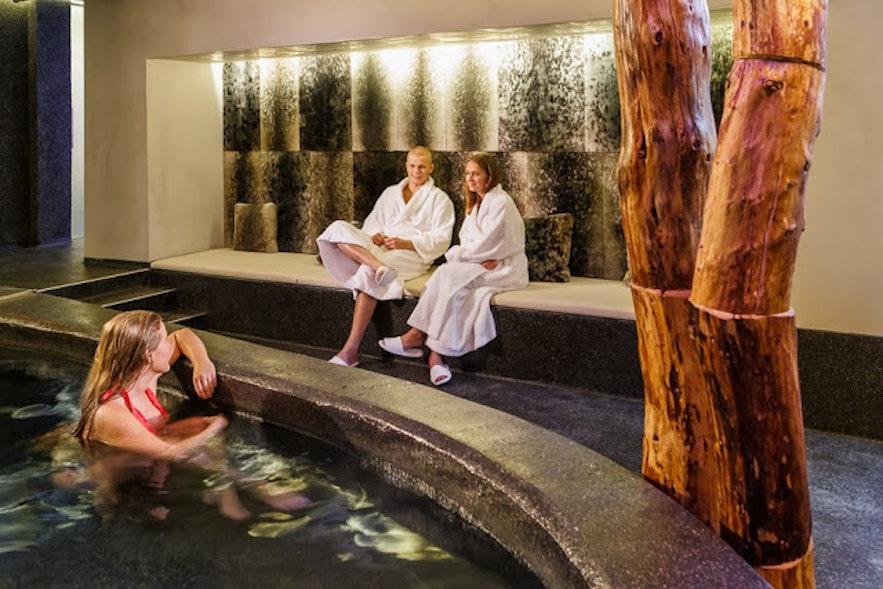 冰岛首都雷克雅未克市中心酒店Center Hotel Thingholt的spa
