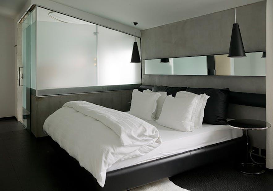 冰岛首都雷克雅未克市中心酒店Center Hotel Thingholt的摩登北欧设计