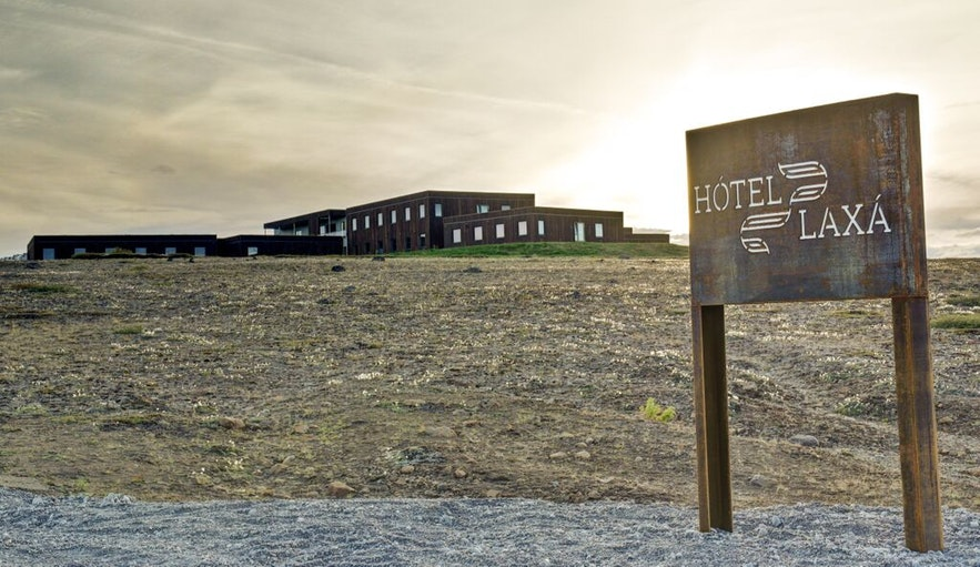 Hotel Laxa na północy Islandii