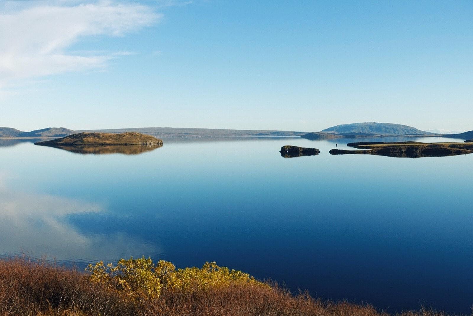 冰岛辛格维利尔湖Þingvallavatn
